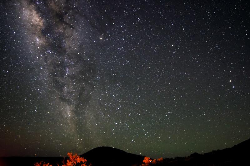 Milky Way Rising over Mauna Kea