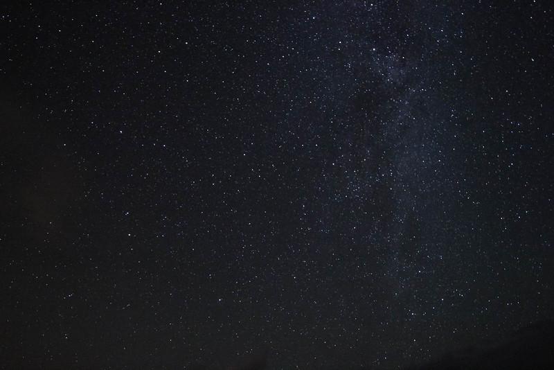 Milky Way tail in Hawaii