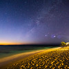 Milky Way at Sunset