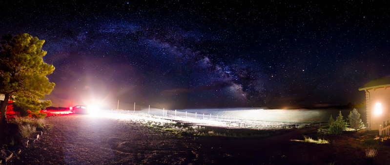 Black Hills Milky Way Panorama, Readjusted