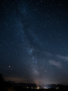 Milky Way taken from Etzel