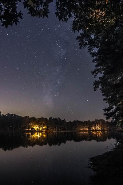 FDR State Park Faint Milky Way, edited