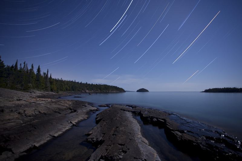 Big Susie Star Trail <br /> <br /> Susie Islands <br /> Grand Portage Indian Reservation <br /> Grand Portage, Minnesota <br /> (5DII-17426-17442)