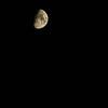 Half Moon as seen from Atlanta, Georgia