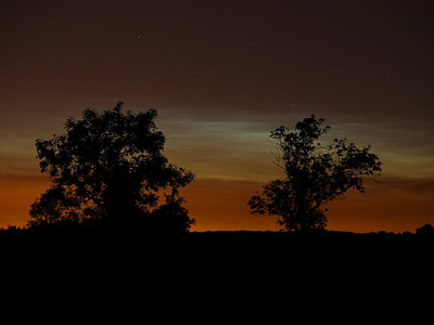 18 June 2010. The 2010 Noctilucent season has begun. First decent sightings of the year from the early hours of this morning (0100hrs) in Lutterworth, Leics. Not a bad dispaly which lasted for about an hour. Night turned to day for a brief period. Captured with Olympus E3, 50-200mm.