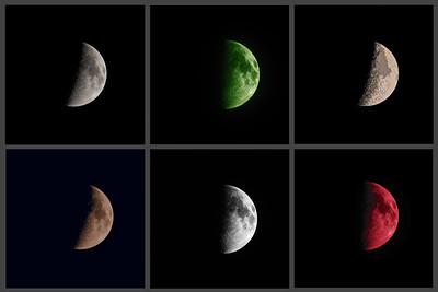 Crescent Moon art filters