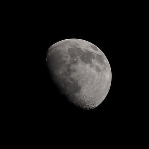 Gibbous moon 78% 22nd April 2021