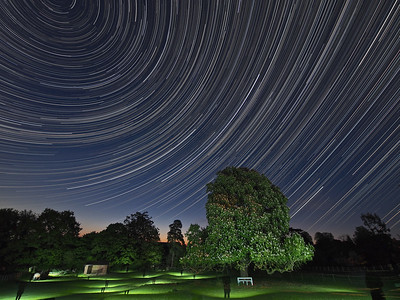 Ghostly Star Trail (Part 2)
