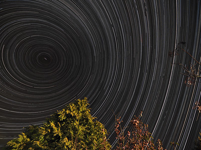9 hr Star Trail
