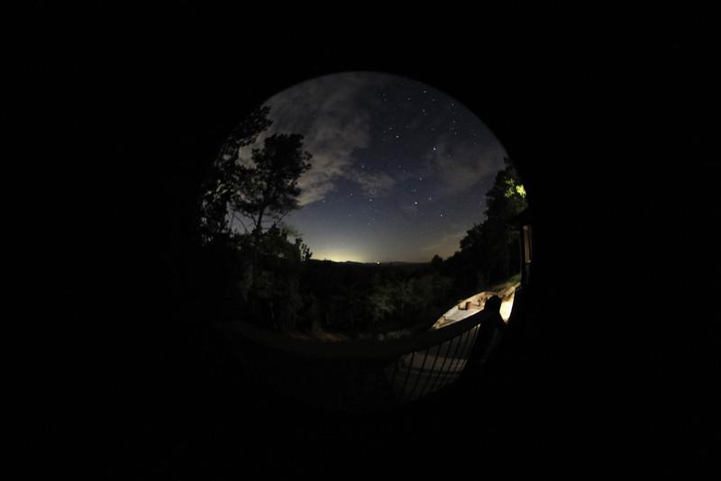 Stars over Talladega National Forest