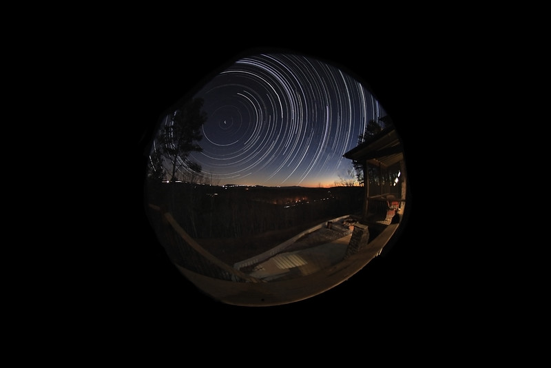 180° Polaris Startrail
