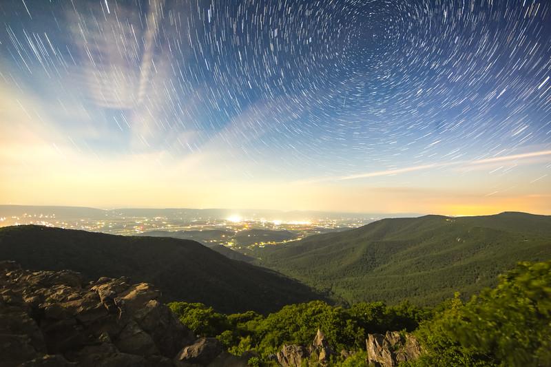 Shenandoah Star Trail