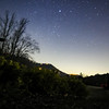 Star shot at Sharptop Cove outside city