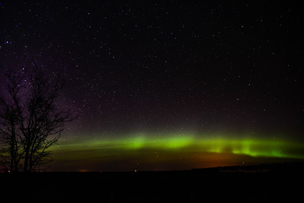 First Northern Lights Photos 3-27-2017