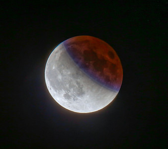 Lunar Supermoon Eclipse on Sept 27, 2015