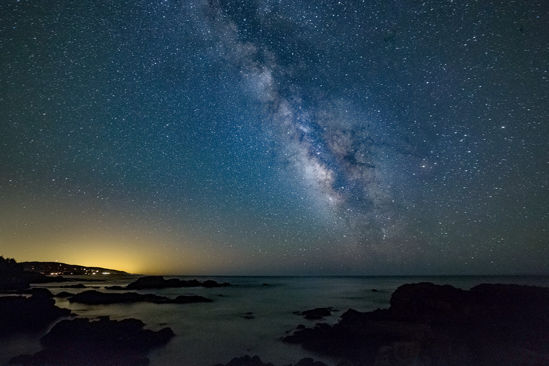 Milky Way Over Shell Beach