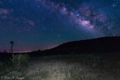 Hill Country Milky Way