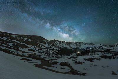 Midnight Magic over Loveland Pass