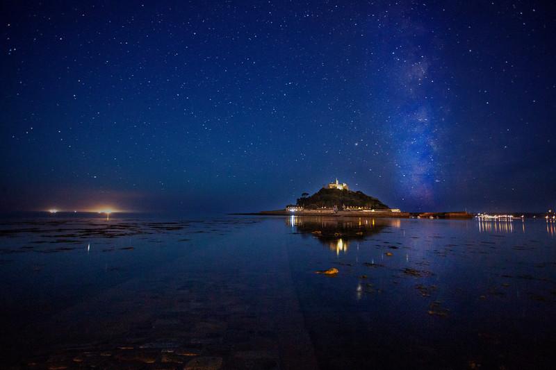Night Sky, Cornwall