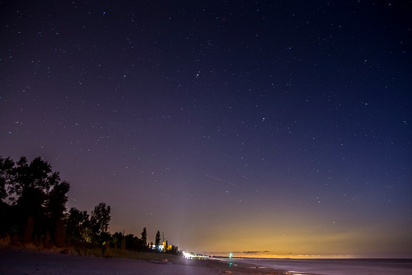 Under the stars at Grand Bend