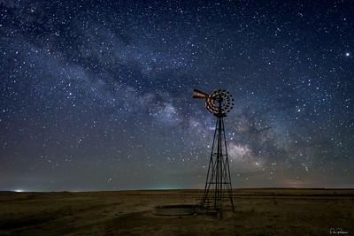 Eastern Plains Star Powered Windmill