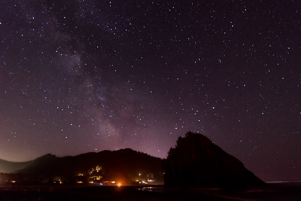 Night Over Neskowin
