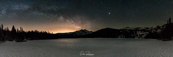 Cold Night at Bear Lake