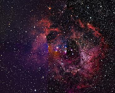 Rosette Nebula Mosaic