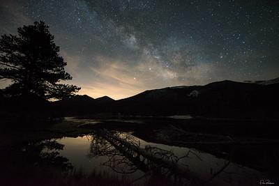 Night fades to Day - Sprague Lake