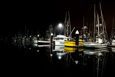 The stillest of still waters, Crescent City, California