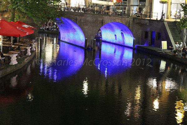 Utrecht at Night - 2012