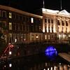 Trajectum Lumen - A Utrecht Tale of Light - Map Ref 4<br /> Illuminated bridge with City Hall above