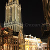 Trajectum Lumen - A Utrecht Tale of Light<br /> The Dom tower dominates the skyline from many angles.  Illuminated street scene and bridge
