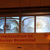 Trajectum Lumen - A Utrecht Tale of Light - Map Ref 2 Neudeflat - projection onto 1st floor windows on block of flats