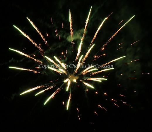 Fireworks at Clydesdale - Nov 2017