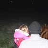Rebecca (with Dad) at her first Fireworks Display at Clydesdale