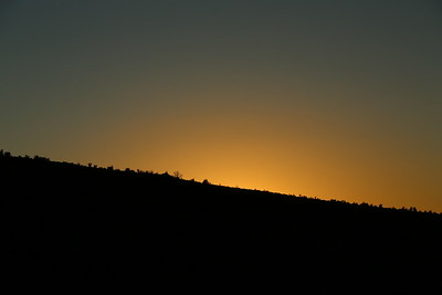 Night Time over Kingman Arizona