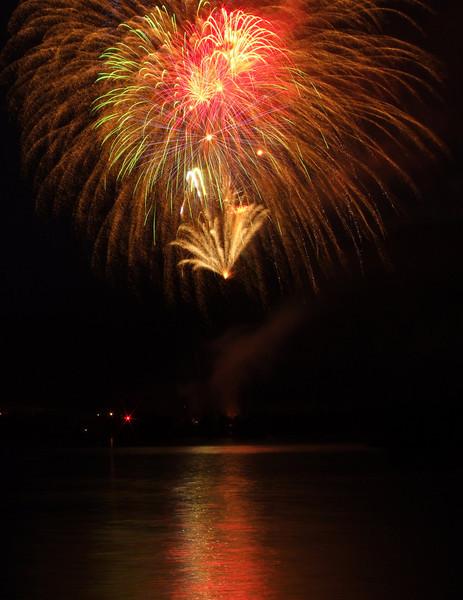July 4 on Dillon Reservoir
