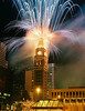 New Year's Eve 2000, Downtown Denver, Colorado<br /> <br /> scanned from a 35mm print