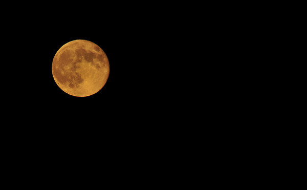 First full moon shot with the D300 after finally finding the setting<br /> for auto ISO sensitivity<br /> (turn it OFF for night photography!!!)