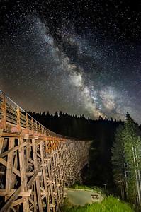 Kinsol Trestle Milky Way