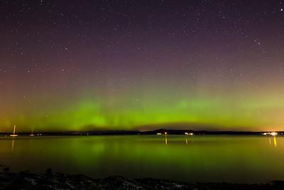 Auroras at Kin Beach, Chemainus