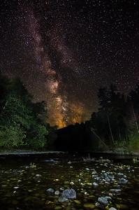 Milky Way over Skutz Falls