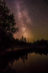 Milky Way at Dougans Lake