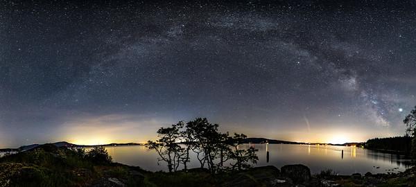Milky Way Arch, Mill Bay