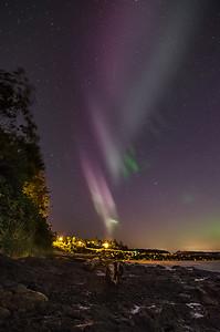 Auroras Overhead, Kin Beach