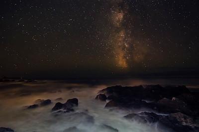 Milky Way at Big Beach Ucluelet