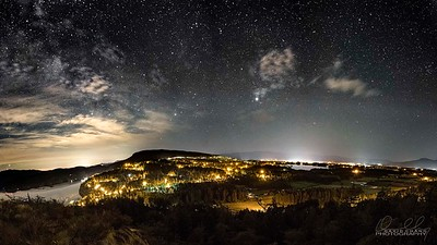 Starry Night over the Cowichan Valley