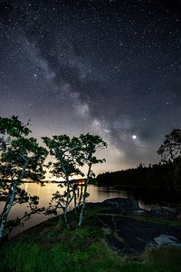 Milky way from Pecker Point, Mill Bay