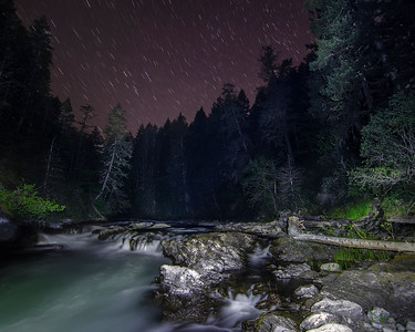 Midnight at Marie Canyon
